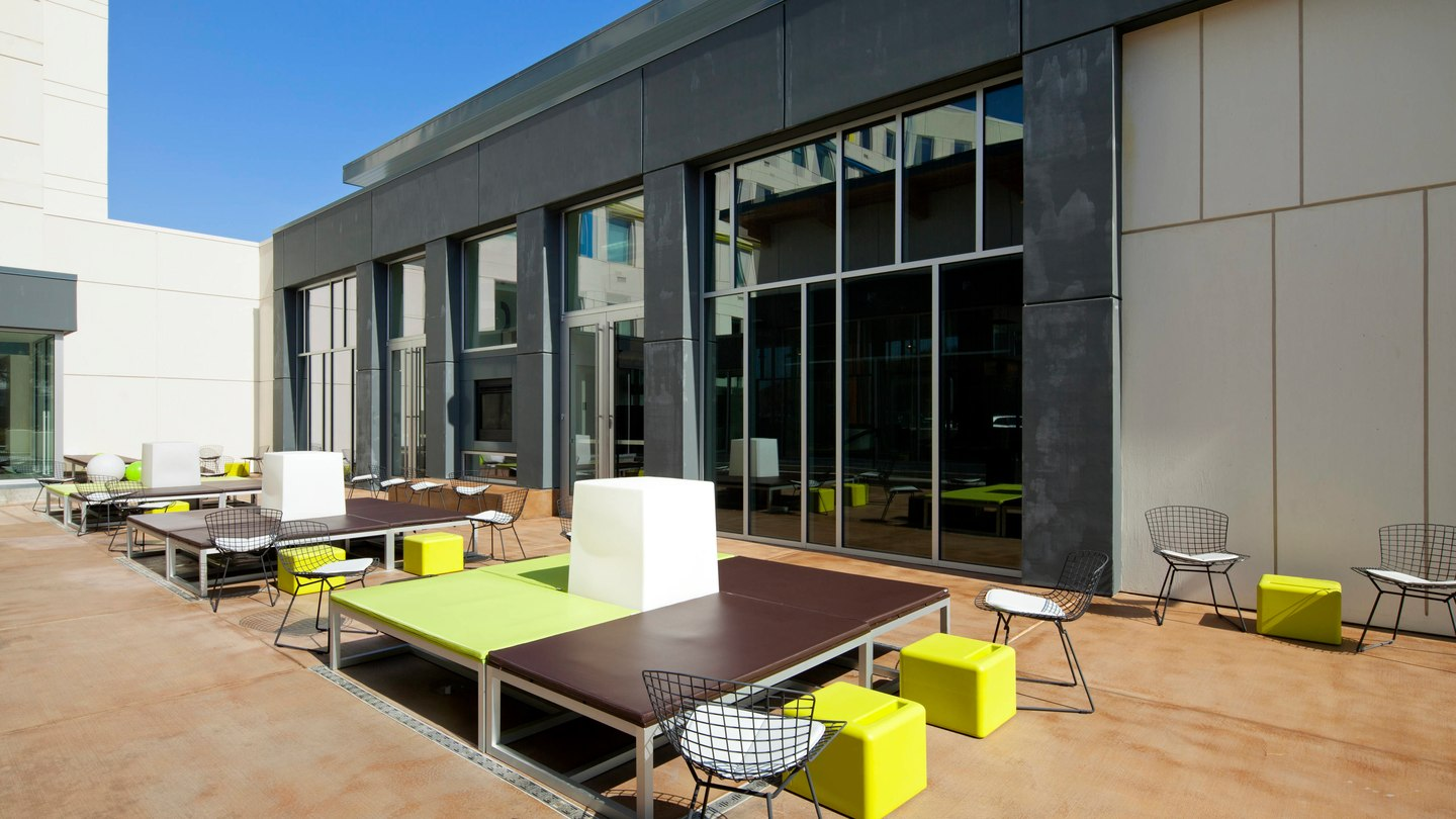Aloft Patio