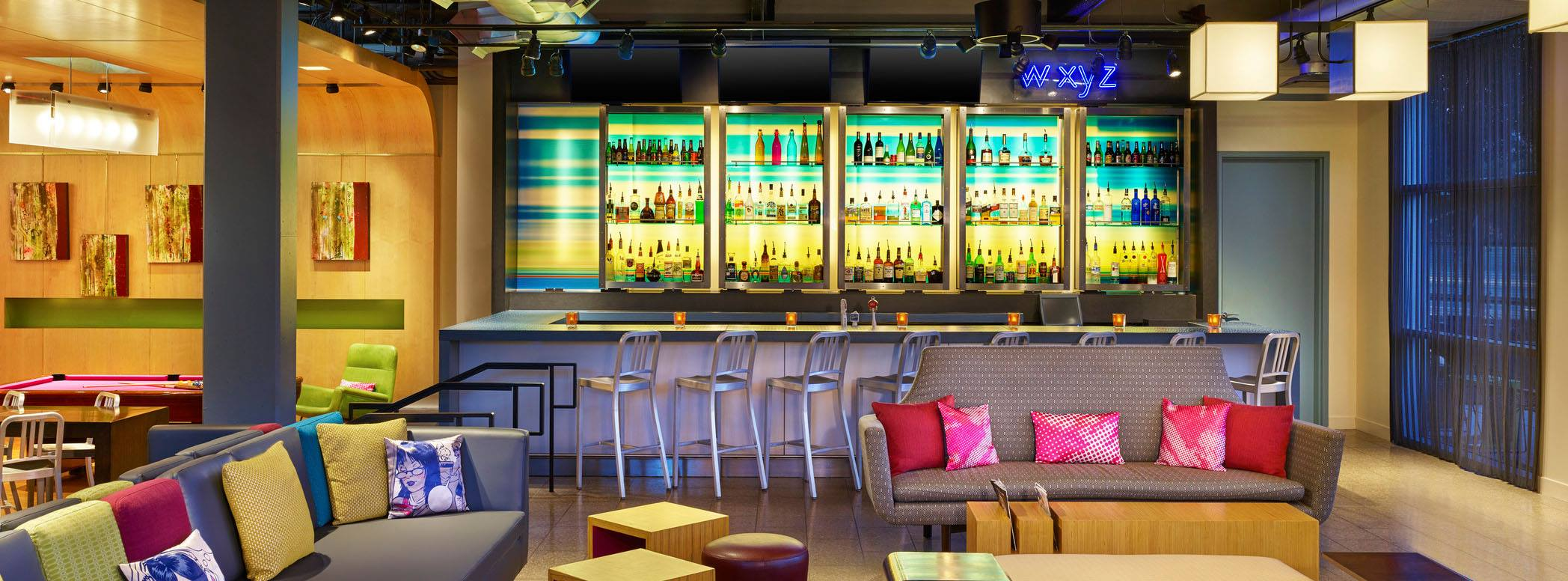 Aloft Reno Interior